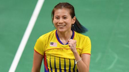Ada kisah bagaimana 3 wakil Indonesia hempaskan ratu bulutangkis Malaysia Goh Liu Ying dalam turnamen tepok bulu internasional. - INDOSPORT
