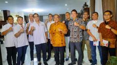 Indosport - MMA di Indonesia berkembang pesat, KONI Pusat sambut keinginan KOBI menjadi anggota.