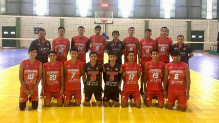 Jakarta Garuda memberi semangat baru bagi dunia bola voli Indonesia. - INDOSPORT