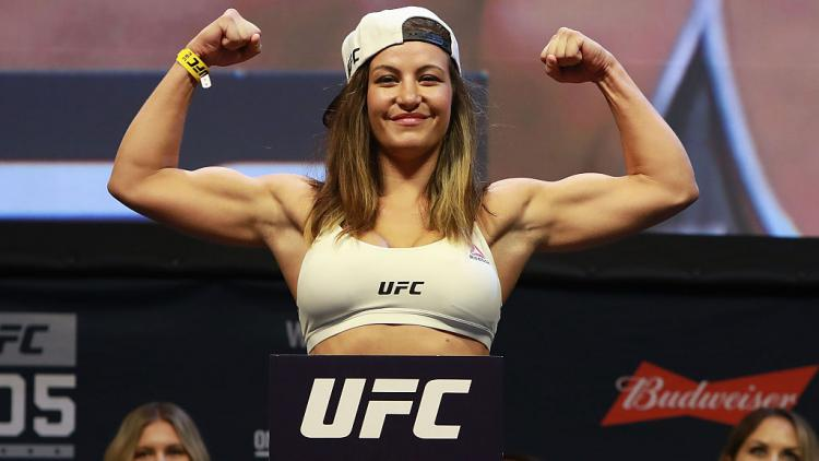 Miesha Tate Copyright: Michael Reaves/Getty Images