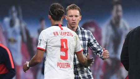 Julian Nagelsmann (RB Leipzig) adalah salah satu pelatih termuda sepanjang sejarah sepak bola. - INDOSPORT