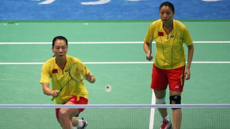 Yang Wei/Zhang Jiewen, ganda putri China. - INDOSPORT