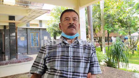 Komisaris PT Persib Bandung Bermartabat (PBB), Umuh Muchtar, mengatakan program latihan untuk persiapan menghadapi lanjutan kompetisi Liga 1 2020. - INDOSPORT