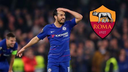 Kabar kepindahan Pedro Rodriguez dari Chelsea menuju AS Roma secara tidak langsung diumumkan oleh FIFA melalui akun Twitter resmi mereka. - INDOSPORT
