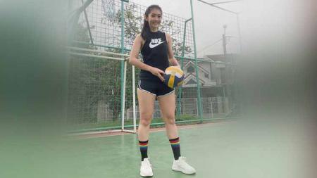 Fithri Syamsu, selebgram yang hobi bermain futsal dan sepak bola. - INDOSPORT