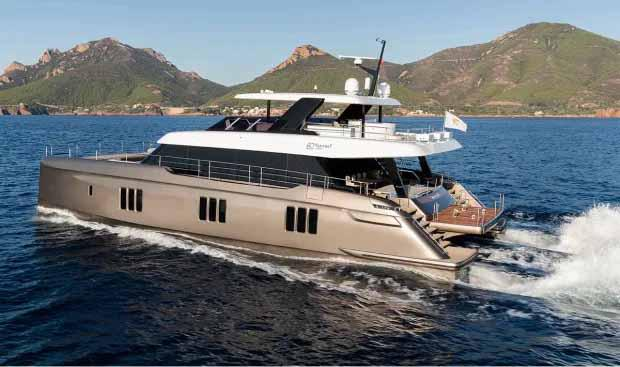 Kapal pesiar Rafael Nadal catamaran 80 Sunreef Power yang menakjubkan. Copyright: thesun/Sunreef Yachts