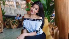 Indosport - Manajer Marketing klub Liga 2 Sulut United, Syalomita Gabriela Karen.