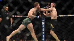 Indosport - Conor McGregor vs Khabib Nurmagomedov.