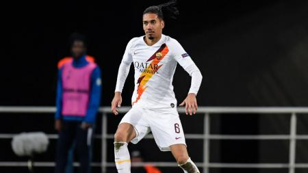 Chris Smalling saat memperkuat AS Roma - INDOSPORT