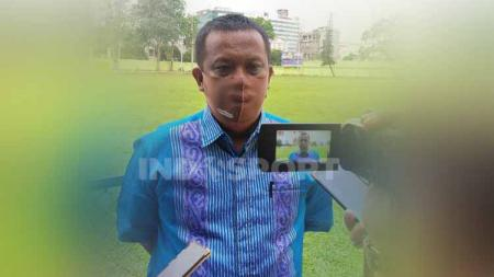 Manajer PSMS Medan, Mulyadi Simatupang. - INDOSPORT