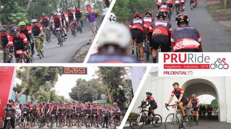 Setelah sukses dengan PRURide Indonesia 2019 di Yogyakarta, tahun ini Prudential Indonesia kembali menggelar ajang bersepeda, bertajuk PRURide Indonesia 2020. - INDOSPORT