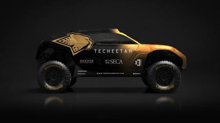 Mobil tim Techeetah di Extreme E. - INDOSPORT