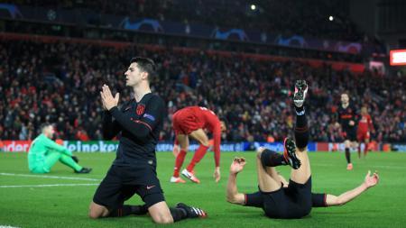 Striker Atletico Madrid, Alvaro Morata yang jadi incaran Inter Milan. - INDOSPORT