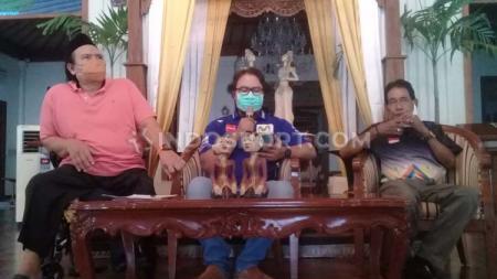 NPC Indonesia menggelar jumpa pers berkait pelatnas daring di Kusuma Sahid Prince Hotel (KSPH) Solo2. - INDOSPORT