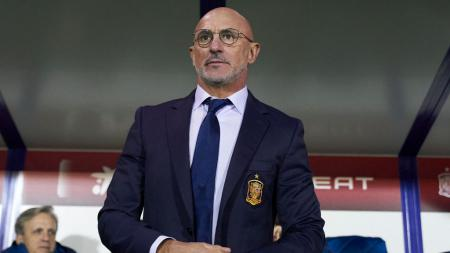 Luis de la Fuente saat masih menjabat sebagai pelatih Timnas Spanyol U-21. - INDOSPORT