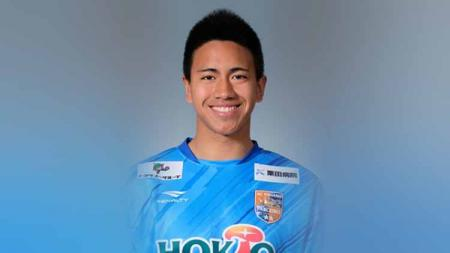 Sebelum isu soal Osvaldo Haay yang pantas ke Liga Jepang, nyatanya kiper muda berdarah Indonesia Ryu Nugraha sudah lebih dulu berkarier di kompetisi Negeri Sakura sejak beberapa musim lalu. - INDOSPORT