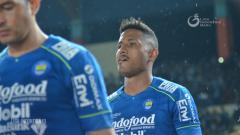 Indosport - Striker asal Brasil milik Persib Bandung Wander Luiz.