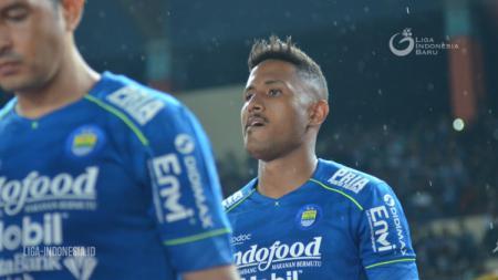Striker asal Brasil milik Persib Bandung Wander Luiz. - INDOSPORT