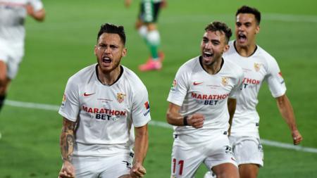 Sevilla memburu tiket Liga Champions saat hadapi Real Mallorca yang menghindari degradasi di jadwal pertandingan LaLiga Spanyol, Senin (13/07/20) dini hari WIB. - INDOSPORT