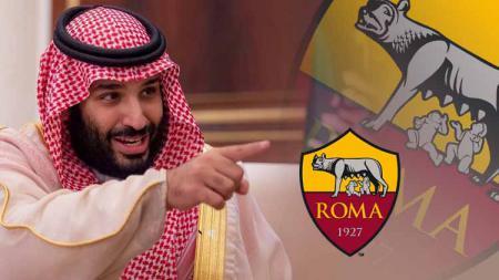 Pangeran Salman bisa saja memboyong 3 pemain muslim ke klub Serie A Liga Italia, AS Roma. - INDOSPORT