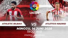 Indosport - Berikut hasil pertandingan sepak bola kompetisi LaLiga Spanyol pada pekan ke-28 antara Athletic Bilbao menjamu Atletico Madrid.