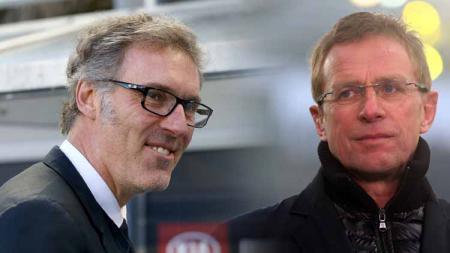 AC Milan, klub Serie A Italia, dihadapkan kepada dua pilihan terkait posisi pelatih anyar tim, yakni Laurent Blanc dan Ralf Rangnick. - INDOSPORT