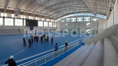 Kesiapan sejumlah venue yang diperuntukkan pada perhelatan Pekan Olahraga Nasional (PON) XX Papua sudah sangat memuaskan, meskipun di tengah pandemi virus corona. - INDOSPORT