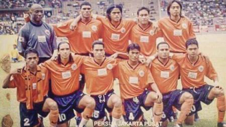Joko Kuspito mengaku moment membela Persija Jakarta menjadi paling berkesan dalam dua dekade perjalanan karirnya sebagai pesepakbola profesional. - INDOSPORT