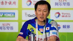 Indosport - Kepala pelatih Asosiasi Bulutangkis Jepang (NBA), Park Joo-bong memberikan komentarnya soal penunjukan Flandy Limpele sebagai pelatih ganda putara Malaysia.
