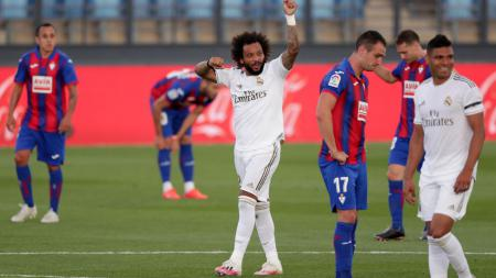 Real Madrid merekrut Marcelo dari Fluminense untuk menggantikan Roberto Carlos dengan mahar yang sangat murah. - INDOSPORT
