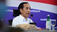 Indosport - Presiden Republik Indonesia, Joko Widodo (Jokowi).