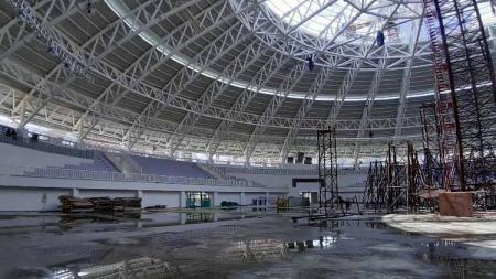 Istana olahraga (Istora) Papua Bangkit yang menjadi salah satu venue PON 2020 bakal mencetak rekor baru. - INDOSPORT