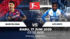 Indosport - Prediksi pertandingan antara Barcelona vs Leganes dalam lanjutan LaLiga Spanyol 2019-20 siap membuat tuan rumah menjauh, Rabu (17/06/20).