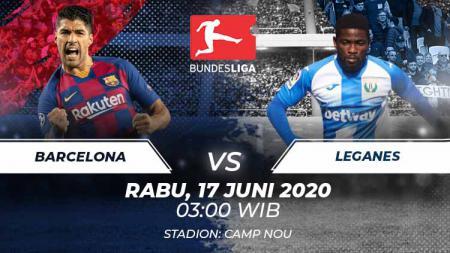 Prediksi pertandingan antara Barcelona vs Leganes dalam lanjutan LaLiga Spanyol 2019-20 siap membuat tuan rumah menjauh, Rabu (17/06/20). - INDOSPORT