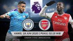 Indosport - Jadwal Pertandingan Liga Inggris Hari Ini: Manchester City vs Arsenal