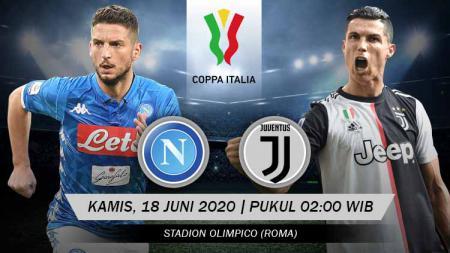 Prediksi pertandingan final Coppa Italia 2019-2020 antara Napoli vs Juventus. - INDOSPORT