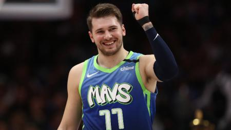 Pemain klub NBA Dallas Mavericks, Luka Doncic. - INDOSPORT