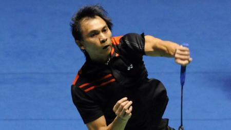 Legenda bulutangkis Indonesia Flandy Limpele yang kini jadi kepala pelatih tepok bulu Malaysia. - INDOSPORT