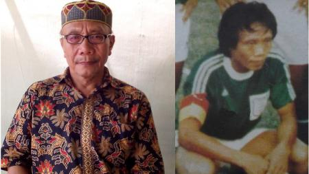 Sunardi B, Legenda sekaligus kapten PSMS Medan saat juara Perserikatan 1983 dan 1985. Foto: Dok. Narasumber - INDOSPORT