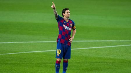 Klub Liga Inggris, Arsenal, pernah ingin mendatangkan Lionel Messi dari Barcelona. - INDOSPORT