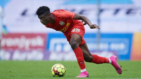 Nyatanya ranking Persipura Jayapura lompati tim pesepak bola Mohammed Kudus, FC Nordsjaelland, yang saat ini diincar Manchester United. - INDOSPORT