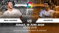 Indosport - Berikut deretan fakta jelang pertandingan LaLiga Spanyol pada pekan ke-29 antara Real Madrid vs Valencia.