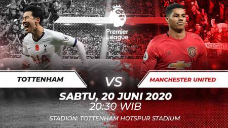 Berikut prediksi pertandingan lanjutan kompetisi Liga Inggris pada pekan ke-30 antara Tottenham Hotspur vs Manchester United. - INDOSPORT