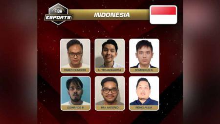 Tim eSports FIBA Indonesia. - INDOSPORT