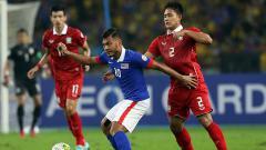 Indosport - Safee Sali (tengah) legenda Timnas Malaysia