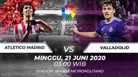 Berikut link live streaming pertandingan LaLiga Spanyol pekan ke-30 antara Atletico Madrid vs Real Valladolid. - INDOSPORT
