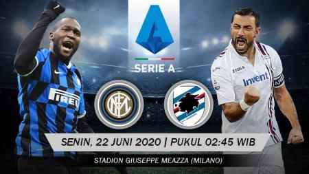 Link live streaming pertandingan Inter Milan vs Sampdoria (Serie A Italia). - INDOSPORT