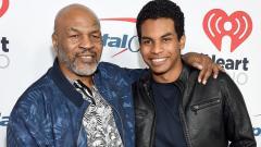 Indosport - Mike Tyson dan Miguel Leon Tyson