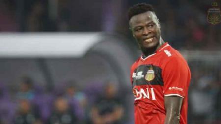 Striker Bhayangkara FC Ezechiel N Douassel (Chad). - INDOSPORT