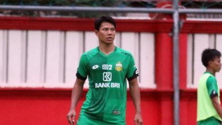 Bek Bhayangkara Solo FC, Achmad Jufriyanto menyambut baik kepindahan klubnya ke Kota Solo, Jawa Tengah. - INDOSPORT